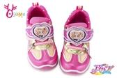 偶像學園 乃乃 女童運動鞋 中小童 電燈鞋K7527#桃紅◆OSOME奧森童鞋