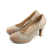 HUMAN PEACE 高跟鞋 圓頭 粉膚色 女鞋 16141 no297