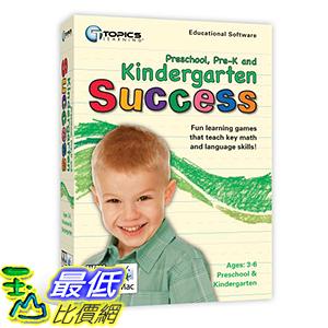 [106美國暢銷兒童軟體] Kindergarten Success PC/Mac