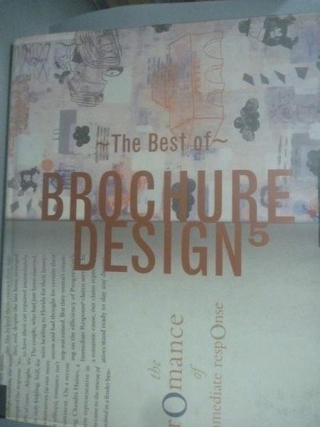 【書寶二手書T2/廣告_ZDF】The Best of Brochure Design 5 _Not Available