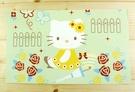 【震撼精品百貨】Hello Kitty 凱蒂貓~kitty大卡片~綠蝴蝶