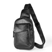 韓版男士胸包男單肩包斜挎包潮流休閒小背包皮包時尚運動胸前小包