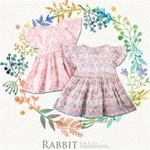 滿版變化兔短袖上衣小洋裝-2色(290294)【水娃娃時尚童裝】