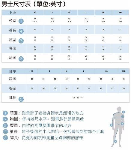 【Columbia】男UPF55快排短褲-藍