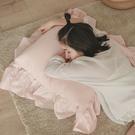 抱枕 單入【法式花邊】L 65x65cm 5色任選 辦公室 客廳 沙發靠墊 翔仔居家