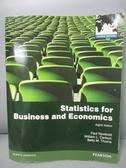 【書寶二手書T9/大學商學_PEM】Statistics for Business and Economics_Paul