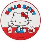 小禮堂 Hello Kitty 圓形絨毛...