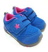 中童 MOON STAR CARROT 寶寶透氣機能學步鞋《7+1童鞋》B429藍色