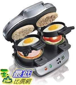 [104美國直購] Hamilton Beach 25490A 雙份漢堡三明治機 Dual Breakfast Sandwich Maker
