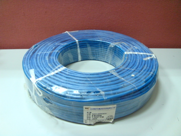 電話線 0.5mm 4C 100M 4芯PE-PVC 話纜 總機 話機 另售 防盜線 300度耐熱線 喇叭線 庫存出清