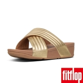 熱銷推薦5折【FitFlop】LULU PADDED CROSS SLIDES(黃金色)