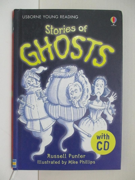 【書寶二手書T1/兒童文學_AMS】Stories of Ghosts_Russell Punter