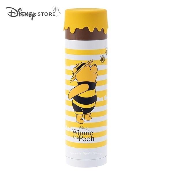 (現貨)日本DISNEY STORE 迪士尼商店限定 小熊維尼 Hunny Funny Sunny 蜜蜂裝 保溫杯 / 保溫瓶 / 保冷杯