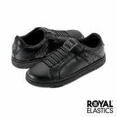 Royal Elastics Icon Alpha 經典運動-經典黑x蛇紋印花