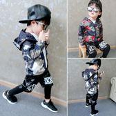 男童外套春秋裝兒童迷彩小孩加絨男小童防風衣女寶寶1-2-3-4歲5潮
