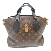 LOUIS VUITTON LV 路易威登 原花手提斜背兩用包 Flower Zipped Tote PM【BRAND OFF】