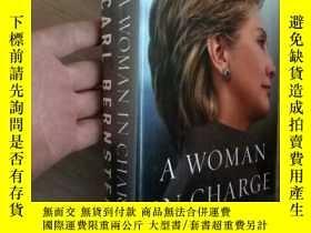 二手書博民逛書店英文毛邊書:A罕見WOMAN IN CHARGE CARL BE