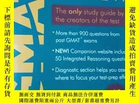 二手書博民逛書店THE罕見OFFICIAL GUIDE FOR GMAT REV