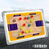 戰術板鋁合金籃球足球戰術板帶磁性擦筆教練指揮板訓練示教板 KB5613【艾菲爾女王】