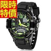 電子手錶-防水優質經典款運動腕錶5色58j33[時尚巴黎]