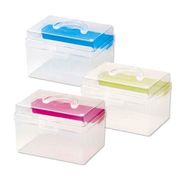 【台灣製】樹德TB-702 童顏系列手提箱 置物箱 工具文具收納箱 文件箱零件盒 小物收納盒 手提盒