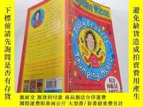 二手書博民逛書店tracy罕見beaker s thumping heart:特雷西·比克爾怦怦直 的心臟Y212829