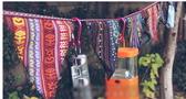 日韓三角串旗刀旗戶外野營露營裝飾民族風三角旗