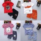 兒童短袖套裝男童夏裝女寶寶1-2-3-4-5歲夏季衣服新品新款童裝潮