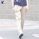 【春夏新品】American Bluedeer - 鬆緊素色長褲(特價)  春夏新款