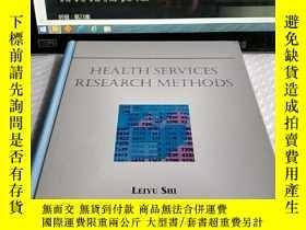 二手書博民逛書店Health罕見Services Research Method