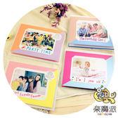 樂魔派『 富士 拍立得 插卡式雙色卡片 』WIDE寬幅相紙底片適用 裝飾 周邊
