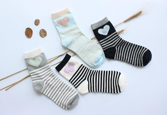 [協貿國際]秋冬款全棉女士中筒襪子