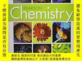 二手書博民逛書店Chemistry罕見Pearson 化學原版教材Y335047