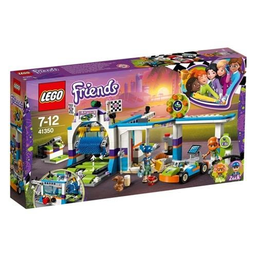 LEGO 樂高 Friends Spinning Brushes Car Wash 41350 Building Set (325 Piece)