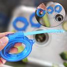 可伸縮管道疏通器 通排水管 清潔勾 下水道取物器 毛髮 異物夾 防堵塞 疏通器【J067】生活家精品