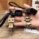 鑰匙圈 車鑰匙扣韓國可愛鑰匙鍊情侶包掛飾...