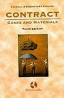 二手書博民逛書店 《Contract: Cases and Materials》 R2Y ISBN:0406049971│MICHIE