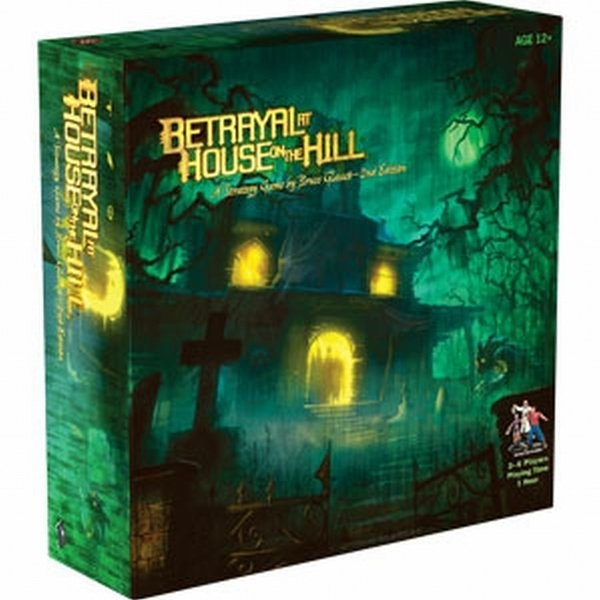 【Hasbro 孩之寶】山中小屋 Betrayal at House on the Hill 桌上遊戲