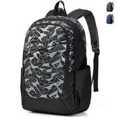 韓版後背包  男雙肩書包 可放15吋筆電《印象精品》y873