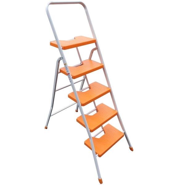 祥江鋁梯-(鐵製)扶手梯5階
