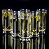 新年好禮 家用玻璃杯啤酒杯套裝果汁杯餐杯酒吧KTV茶杯耐高溫牛奶杯 6只裝