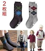 百搭《紳士菱紋款》帥氣中統襪