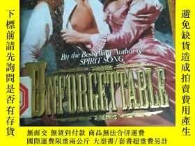 二手書博民逛書店Unforgettable【忘不了,by罕見Madeline B