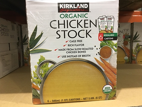 KS ORGANIC CHICKEN STOCK柯克蘭有機清雞湯946ml*6瓶