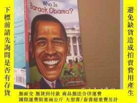二手書博民逛書店Who罕見Is Barack Obama?Y19506 Robe