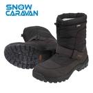 【日本Caravan 】  SHC_12M 男雪靴 (黑色)