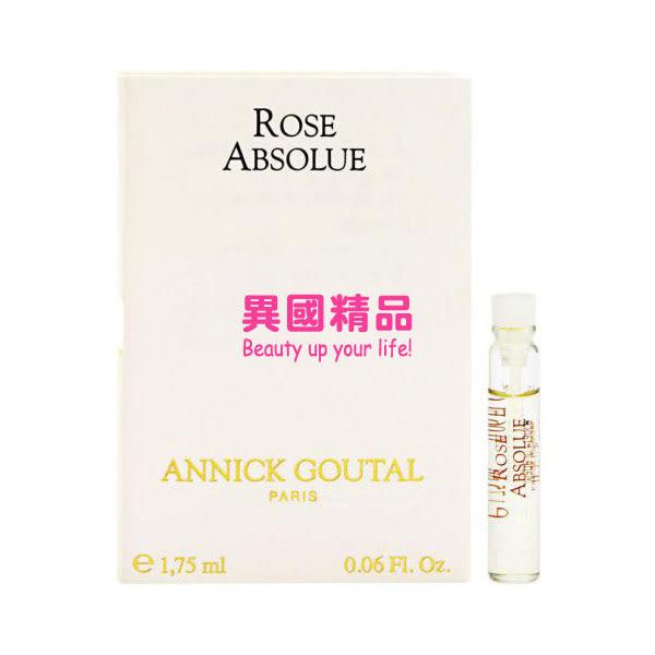 Annick Goutal Rose Absolue 女性針管香水 1.75ml EDT VIAL【特價】★beauty pie★
