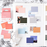 【BlueCat】Colour靈感色卡盒裝貼紙 手帳貼紙 (45入)
