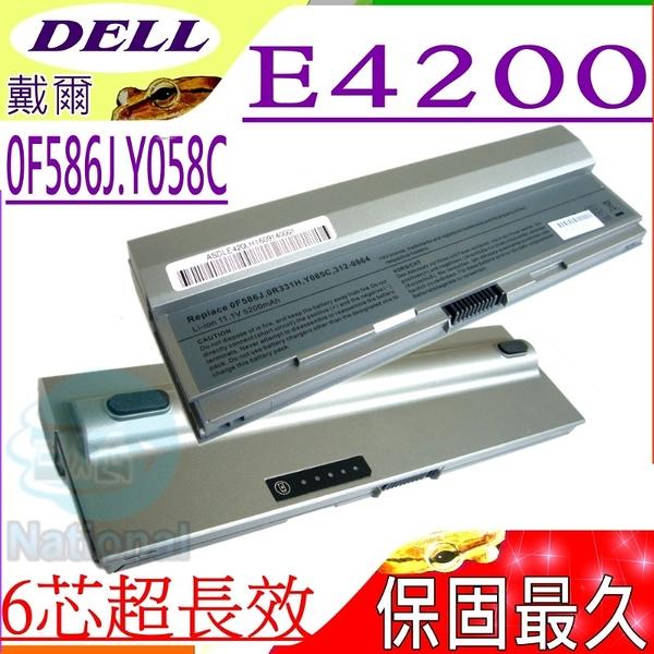 Dell 電池-戴爾電池 Latitude E4200電池,F586J,R331H,R640C,R841C,W343C,W346C,X784C,Y082C,Y084C,Y085C
