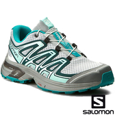 【SALOMON 法國】女 WINGS FLYTE 2 野跑鞋『珍珠藍/深青/深孔雀藍』392490 跑鞋|登山鞋|健行鞋